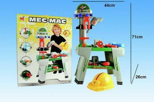 Mec-Mac Banco Da Lavoro Meccanico Gioco Giocattolo Bambini sar