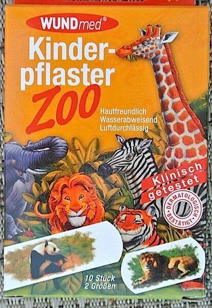 (0,28€/1Stk) WUNDmed® 02-064 Pflaster 10 Stück Motiv-Pflaster Kinderpflaster ( Z