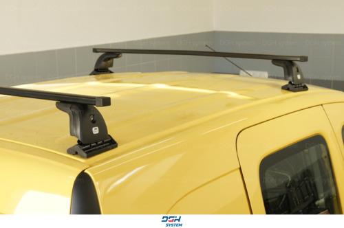Dachträger Für Nissan NV200 09 mit Fixpunkten Stahl Schwarz 130cm