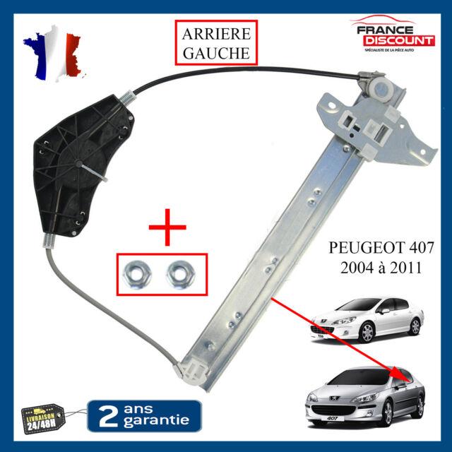 Mecanismo De Elevalunas Trasero Izquierdo Conductor Peugeot 407=1619992480