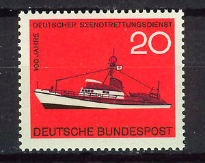 ALEMANIA-RFA-WEST-GERMANY-1965-MNH-SC-929-Sea-Rescue-Service