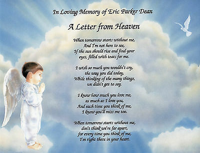 Custom BEREAVEMENT POEMS For Someone You Lost  9 Layouts To Choose From...