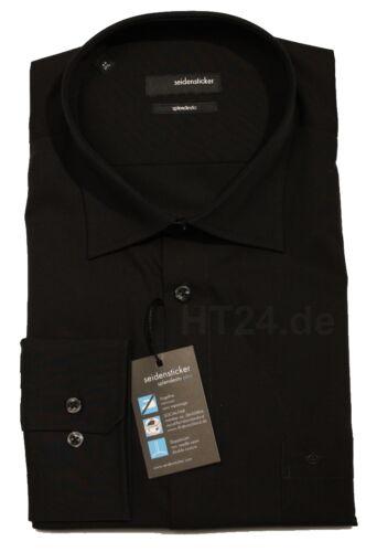Seidensticker SPLENDESTO KENT  1//1 schwarz  Langarm Hemd bügelfrei