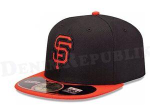 New Era 5950 SAN FRANCISCO GIANTS MLB Diamond Era Cap Batting Practice Bk Fitted
