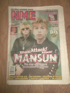 NME-MAGAZINE-NEWSPAPER-MAY-10-1997-MANSUN-THE-CHARLATANS-FOO-FIGHTERS