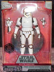 "Disney Store First Order Stormtrooper Elite Series Die Cast Action Figure 6 1//2/"""