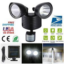 22 LED Solar Power Motion Sensor Light Dual Security Detector Floodlight Outdoor