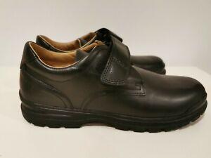 cerca siete y media Propio  Geox Boy's Black J William Q Smooth Leather School Shoes EU 40 6.5UK   eBay