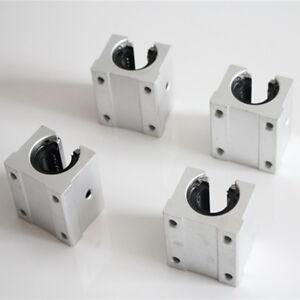 2pcs SBR20LUU 20mm CNC Router Linear Ball Bearing Block YB