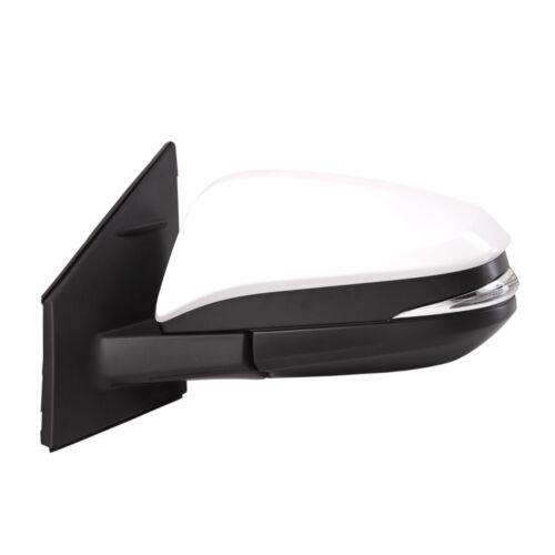 Side Mirror for Toyota RAV4 13-15 Power Heated Signal Light Driver Left WHITE