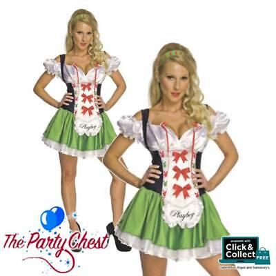 Ladies Oktoberfest Women Fancy Dress German Bavarian Beer Girl Costume Decor