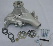 Raw Aluminum Small Block Chevy High Volume Long Water Pump Sbc 283 305 327 350