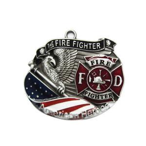 Fire-Fighter-I-Anhaenger-Freiwillige-Feuerwehr-Feuerwehrmann-Brigade-Department
