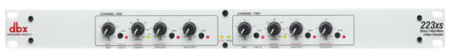 dbx 223xs Stereo 2-Way//Mono 3-Way Crossover with XLR Connectors New