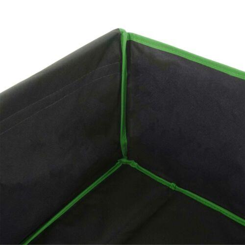 Handwagen Hecktasche//Abdeckung schwarz//grün Faltbarer Bollerwagen HWC-E62