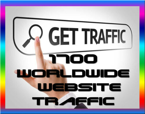 do targeted 1700 visitors to your website// people promotion campaigns