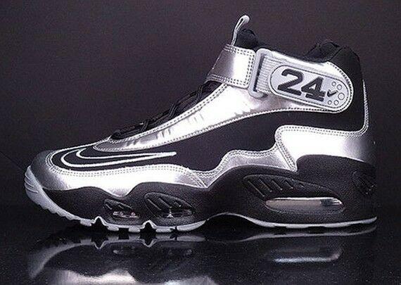 Nike Air Griffey Max 1 Black Metallic Silver Comfortable Special limited time