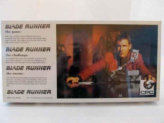 Rara De Colección Década de 1980 nuevo Blade Runner Juego De Mesa Sellado CPC Harrison Ford difícil de encontrar