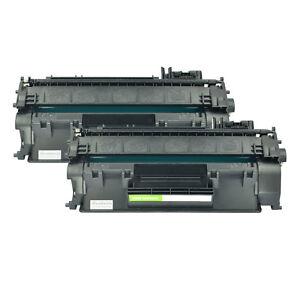 6 PK Toner Cartridge CF280A 80A Compatible For HP LaserJet Pro 400 M401dn M401dw