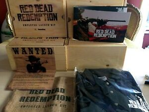 RED DEAD REDEMPTION EMPLOOYE LAUNCH KIT LIMITED COLLECTOR NEW PRESS KIT - Italia - RED DEAD REDEMPTION EMPLOOYE LAUNCH KIT LIMITED COLLECTOR NEW PRESS KIT - Italia