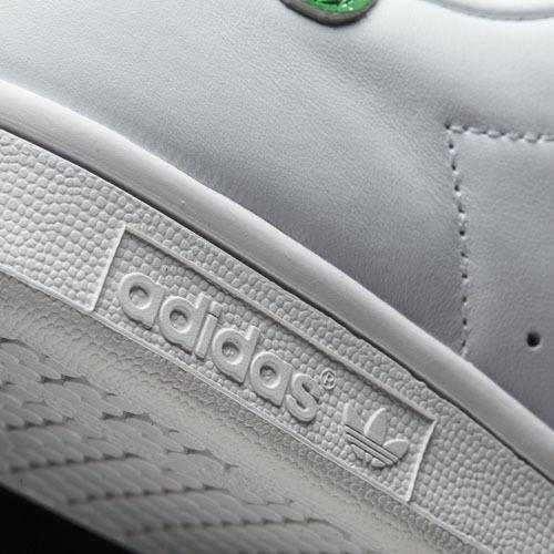 Women Adidas BZ0407 Stan smith Running shoes white white white green sneakers 1540a0