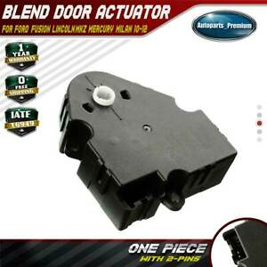 Image Is Loading Hvac Heater Blend Door Actuator For Ford Fusion