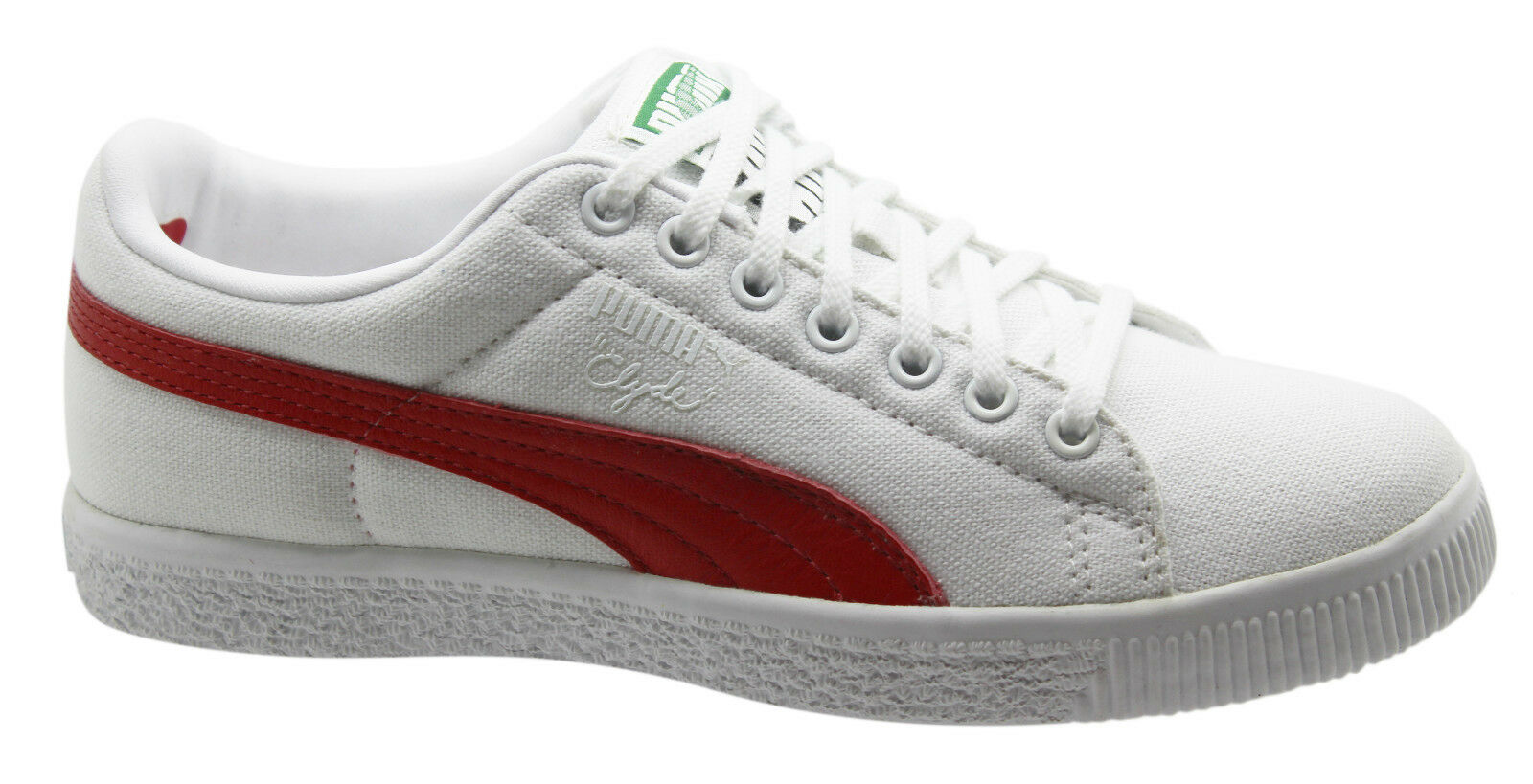Puma Clyde X UNDEFEATED Canvas Trainers Hombre Trainers Canvas 352768 01 D1 d091ef