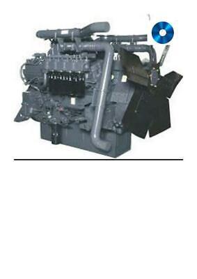 Adroit Komatsu Sa6d 110-1 Engine Workshop Manual Digital Agriculture/farming