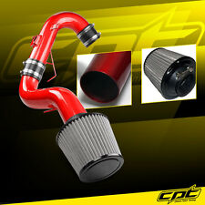 11-16 Scion tC 2.5L 4cyl Red Cold Air Intake + Stainless Steel Air Filter