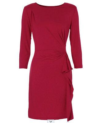 Kleid mit Volants und verdecktem Reißverschluss* Gr.36/38