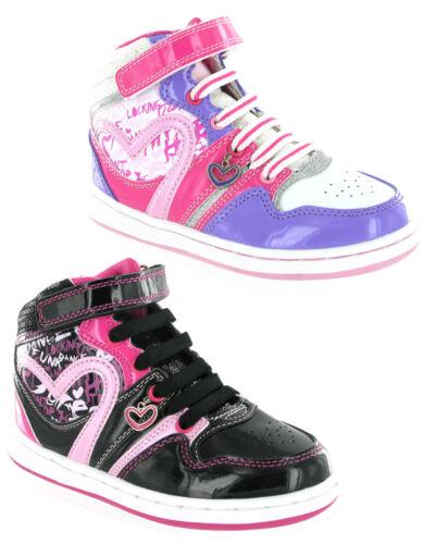 Pineapple Shakin Hi-Top Baseball Boots Lightweight Dance Girls Trainers 10-2 UK