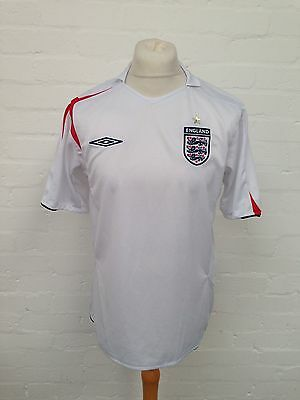 Mens England Home Shirt - Large - 2005-2007 - Great Condition
