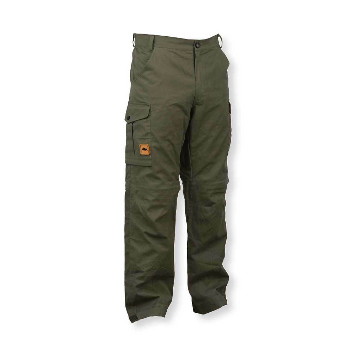 Prologic NEW Fishing Green Water Repellent Cargo Trousers All Sizes