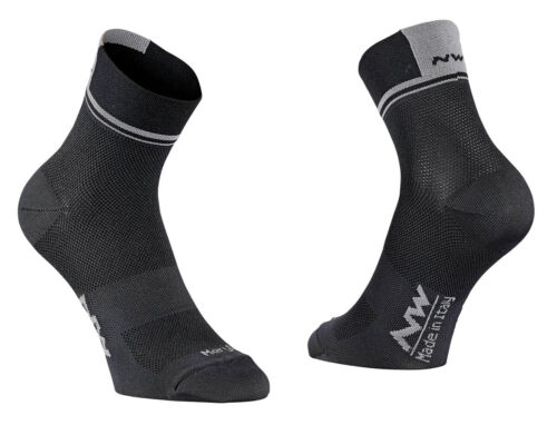 Northwave Logo 2 Fahrrad Socken schwarz//grau 2019