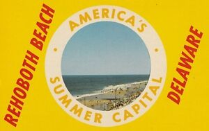 Delaware-Postcard-034-Rehoboth-Beach-034-America-039-s-Supper-Camp-U1-6