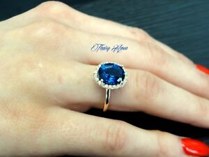 14k-Rose-Gold-Engagement-Ring-With-Simulated-Diamonds-amp-Lab-Created-Sapphire
