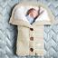 Indexbild 17 - Baby Kinderwagen Winter Einschlagdecke Wickeldecke Schlafsack Decke für Warme