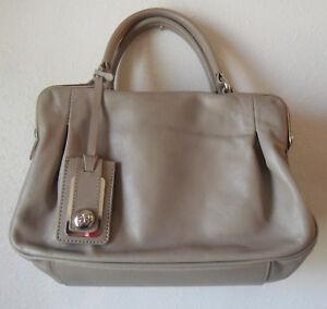 bf87379fbab9 Image is loading Vintage-French-ELEGANCE-Paris-Handbag-Bowler-BAG-Purse-