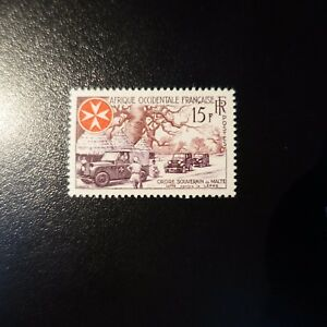 Africa-Occidentale-Francese-Aof-N-63-Neuf-Luxe-MNH
