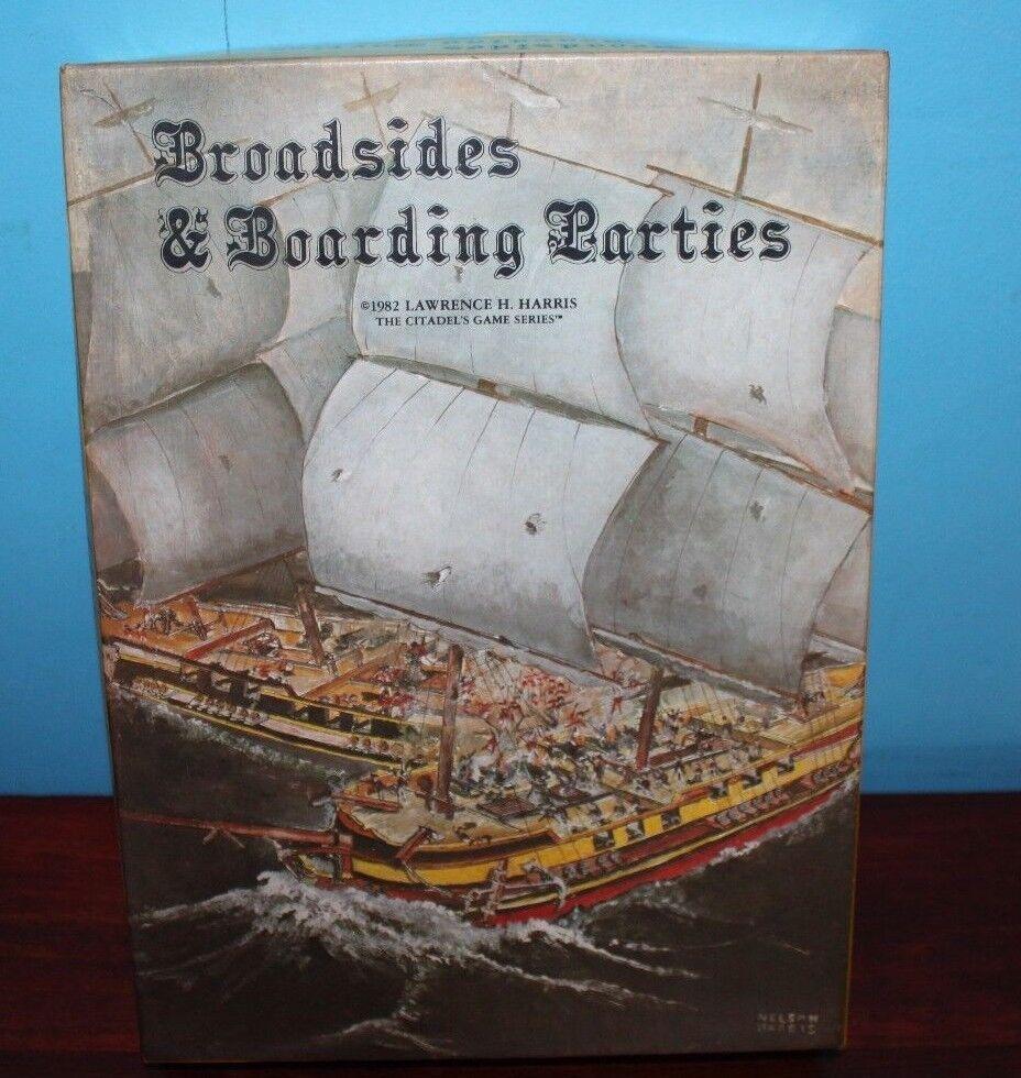 Broadsides & Boarding Pkonstys- Citadel Games 1982