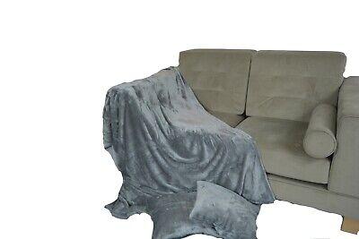 Duck egg sofa bed throw blanket double king
