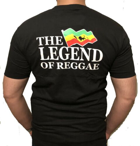 Nouveau dernières Bob Marley legends of reggae T-shirt Hot vendeurs