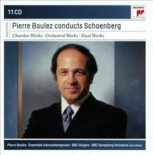 Pierre Boulez Conducts Schoenberg (CD,2013, Sony Classical) 11 CD Set