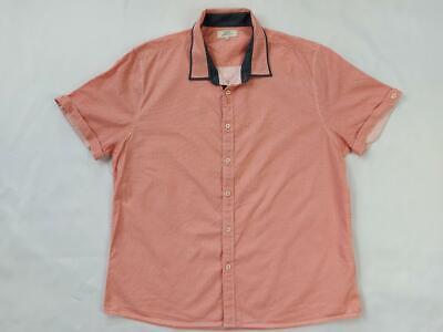 men's matalan easy orange designed male short sleeves