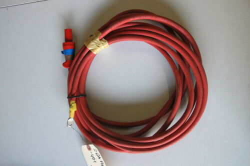 2 GA Flex-A-Prene Welding//Battery Cable 600 V Red Made in USA 22 FEET