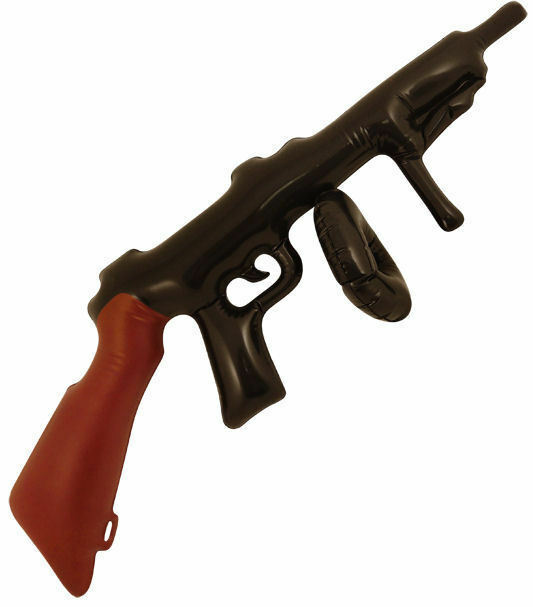 Inflatable Fake Machine Gun Costume Accessory