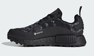 Adidas NMD R1 Trail Gore-Tex Waterproof Running Shoes Core Black FZ3607 Men's