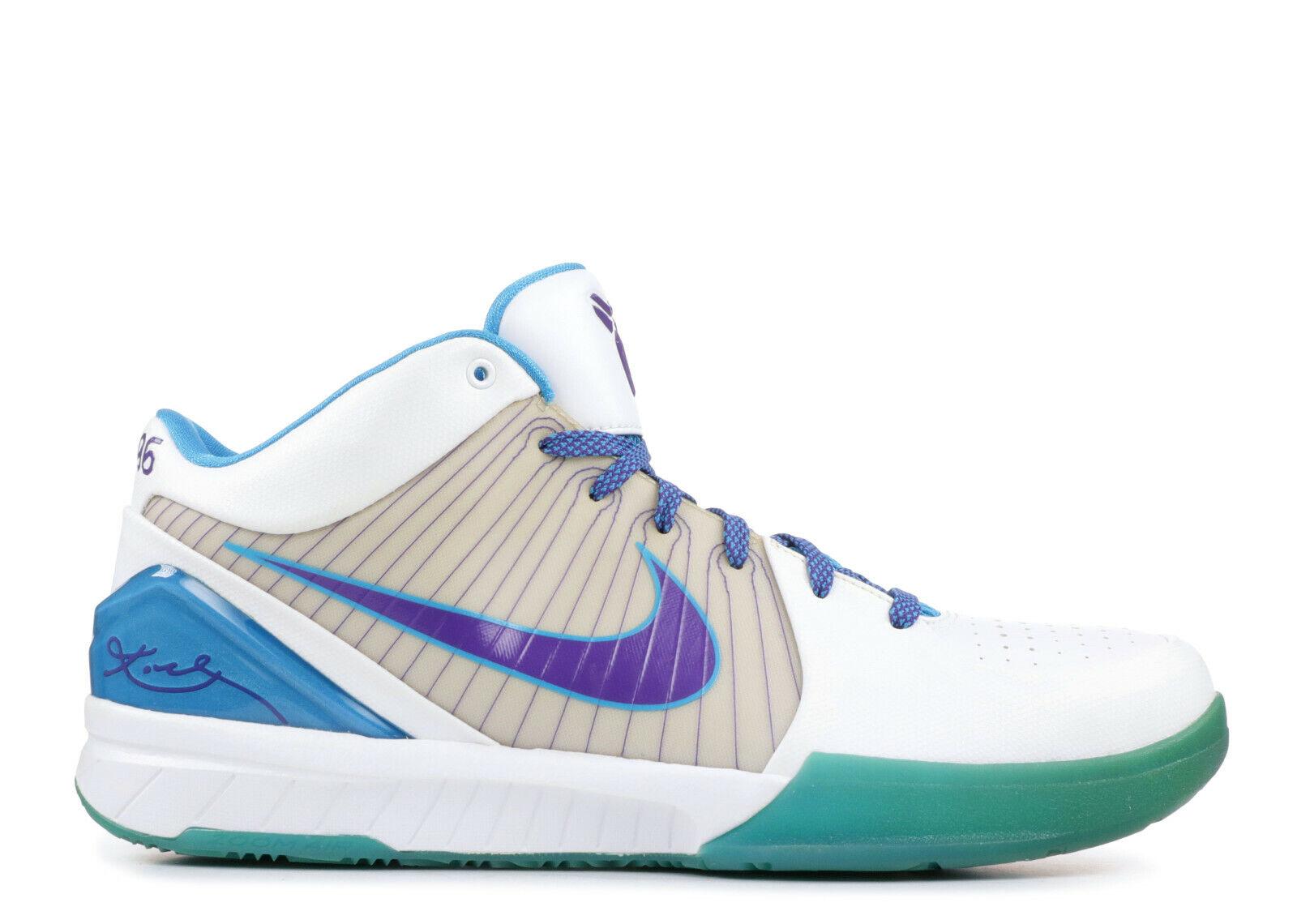 2009 Nike Zoom Kobe Bryant IV 4 Sz 8 projet de jour Charlotte Hornets OG 344335-151