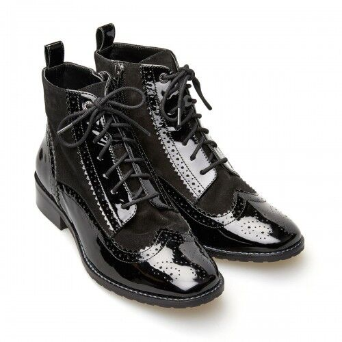 Señoras van-Dal Remington Negro botas al tobillo-tamaños Reino Unido 5, 5.5, 6, 6.5, 7