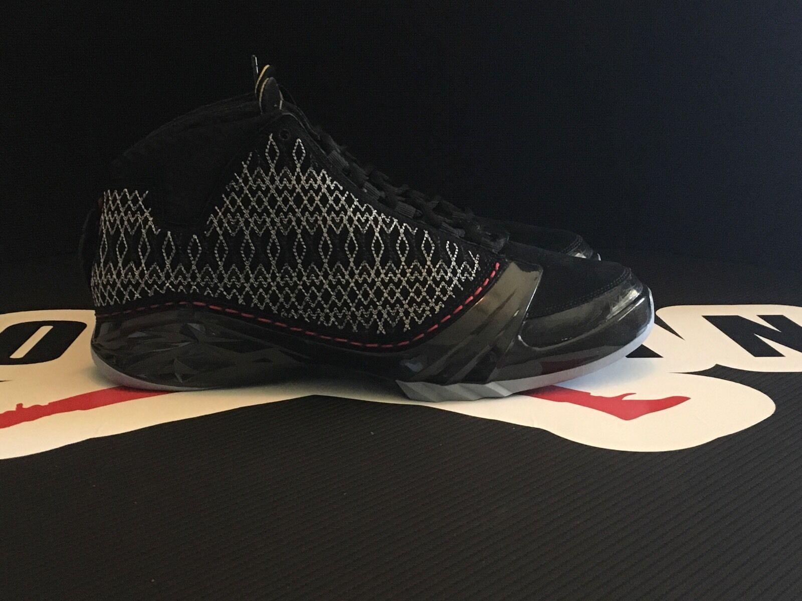 Original Air Jordan  XX3 BLACK-VARSITY- RED NIB SIZE 10.5 Dead Stock